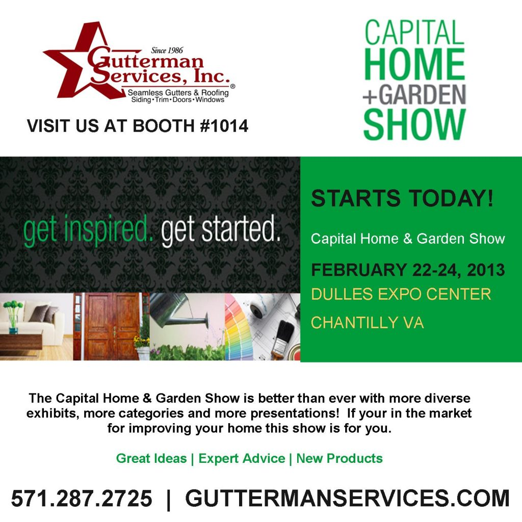 February 22nd, 2013: Capital Home U0026 Garden Show Starts Today! Ask Us About  Your Project! Ideas