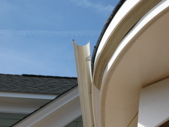 Half Round Gutters In Aluminum Or Copper Northern Va