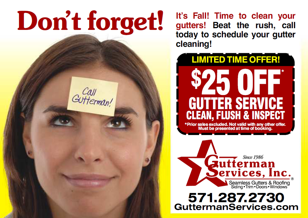 November 19th 2012 Northern Virginia Gutters Cleaning