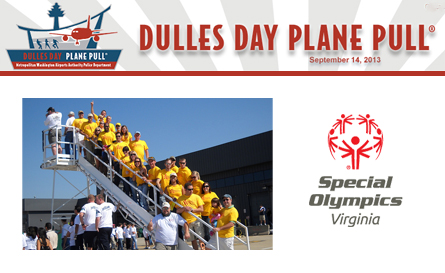 Dulles Plane Pull 2013 Northern Virginia Gutters
