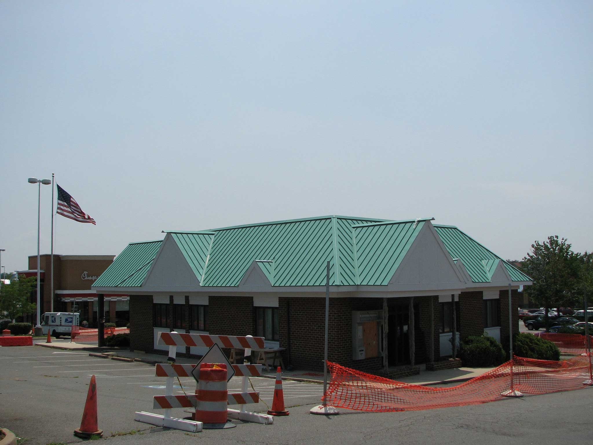 Commercial Metal Roof Northern Virginia Gutters Cleaning